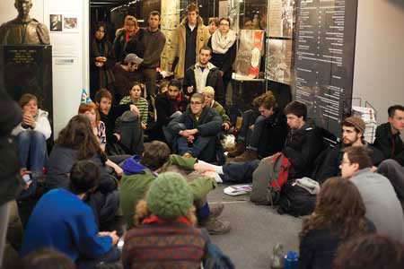As the James Admin building director, Rosemary Cooke had to contend with students occupiers in February 2012. / Photo: John Kelsey