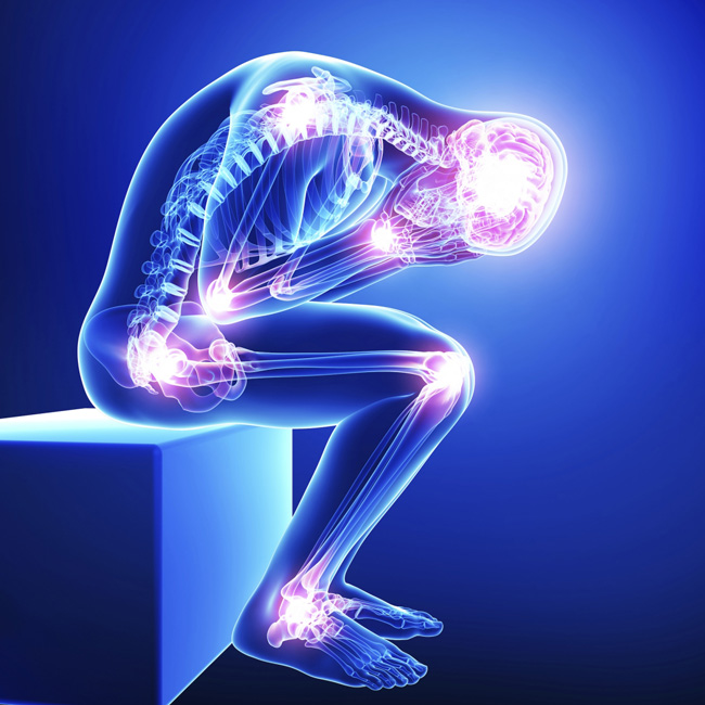 It is estimated that 1 in 5 Canadians suffer from chronic pain.