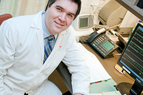 Dr. George Thanassoulis (study-lead author), director of preventive and genomic cardiology, MUHC