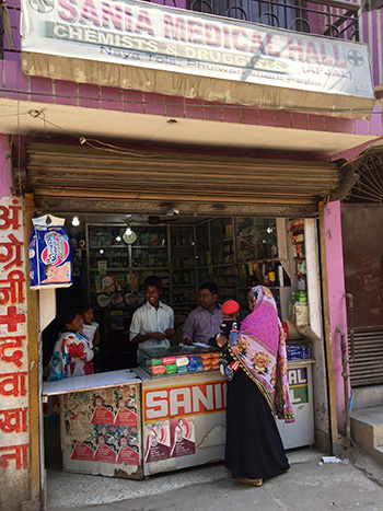 Pharmacy in Patna, India.  / Photo: Amrita Daftary.