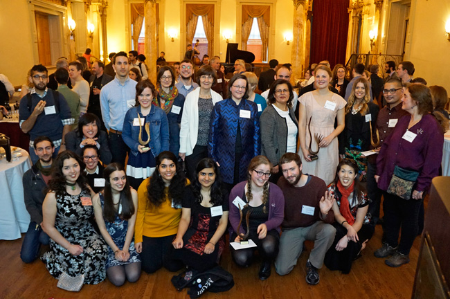 Winners of the 2016 Catalyst Awards.