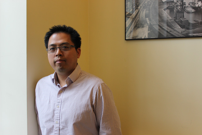 """The basics of what I do is to make sure research teams – McGill researchers, industrial partners, and partners in general – are in the best position to apply to an interested granting program, ultimately leading to a successfully funded grant,"" says Senior Grants and Agreements Officer David Nguyen"