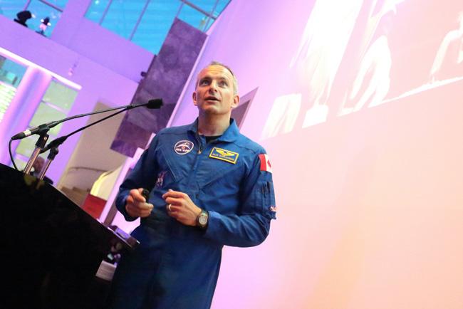 David Saint-Jacques, the second family medicine graduate to become a Canadian Space Agency Astronaut astronaut. / Photo: Owen Egan