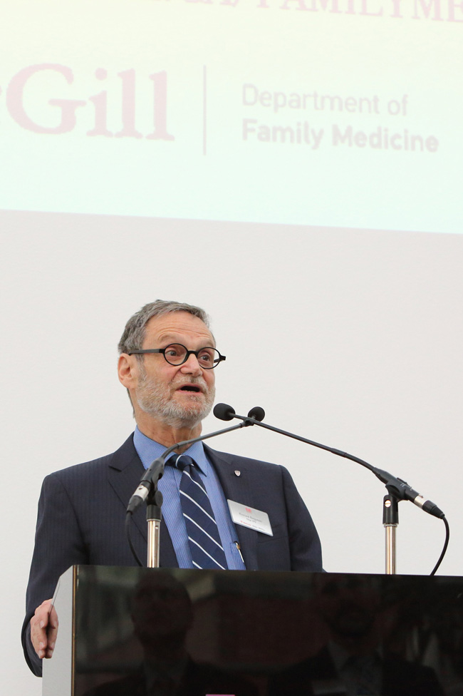 Dr. Howard Bergman, Chair of the Department of Family Medicine at McGill. / Photo: Owen Egan