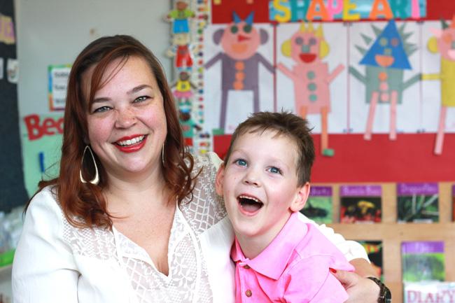 Emily Diamond and her son Bennett. / Photo: MUHC