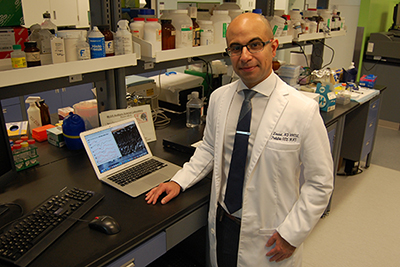 Dr Faisal Zawawi, Otolaryngologist and member of the McGill Auditory Sciences Laboratory at the RI-MUHC