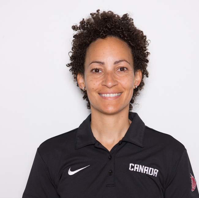 Danielle Dobney, currently a doctoral student  will serve as a therapist with the Canadian women's basketball team.