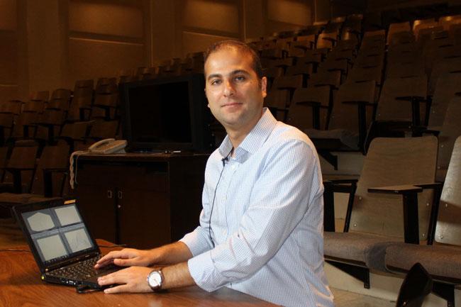 McGill postdoctoral fellow Farnood Gholami.
