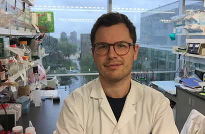 Paul Savage is in his sixth year in McGill's MD-PhD program, a program designed to train clinician-scientists.