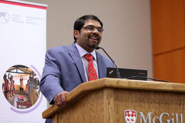 Madhukar Pai, Director of McGill Global Health Programs. / Photo: Owen Egan