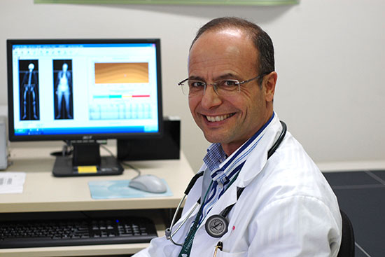 Dr. Antonio Vigano, Director of the Cancer Rehabilitation Program and Cachexia Clinic of the MUHC
