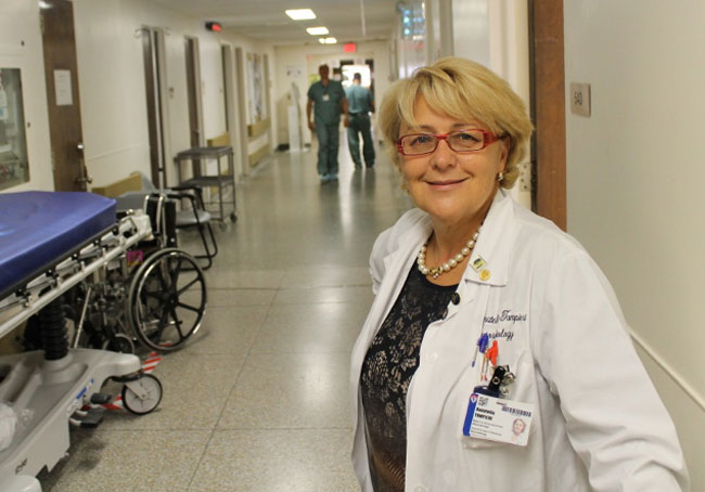 Dr. Donatella Tampieri of the Montreal Neurological Institute and Hospital is