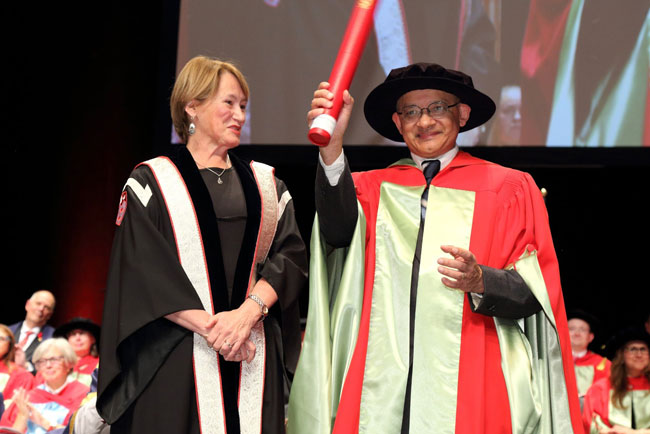 "When asked about the best qualities of McGill students, computer science professor Prakash Panangaden is concise. ""Two words: raw talent."" / Photo: Owen Egan"