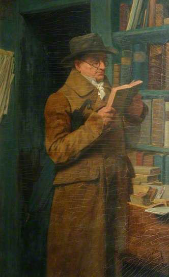 Henry Stacy Marks, The odd volume (1894)