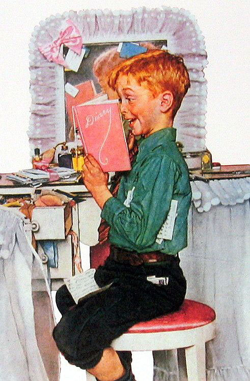 Norman Rockwell, Vanity Fair cover (1942)