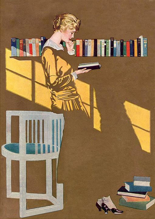 Coles Phillips, Cover for Good Housekeeping magazine