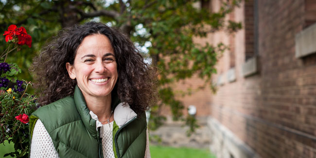 """Elena Bennett will deliver the lecture """"Optimizing ecosystem services in community-oriented, multifunctional landscapes,"""" at the World Economic Forum on Jan. 20."""