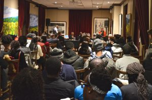 More than 120 people attended McGill's opening event for Black History Month 2017, held Wednesday, February 1, in Thomson House.