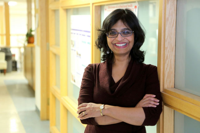 """""""A lot of people want to be active, but it is very difficult to change health behaviours,"""" says Dr. Kaberi Dasgupta. """"The idea in this study is to use step counts almost as a medication."""""""