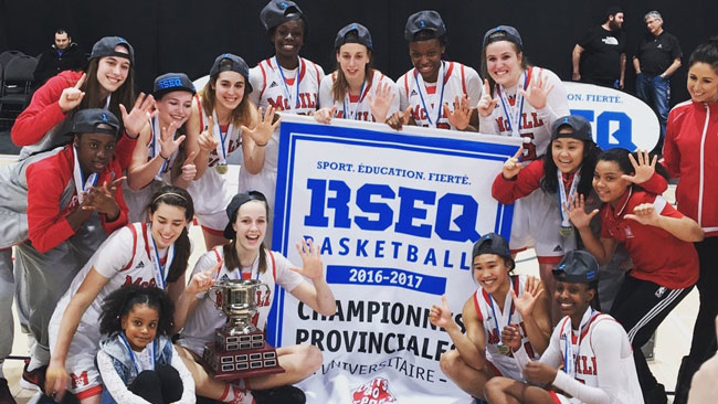 On Saturday, the Martlets captured their sixth consecutive RSEQ conference championship