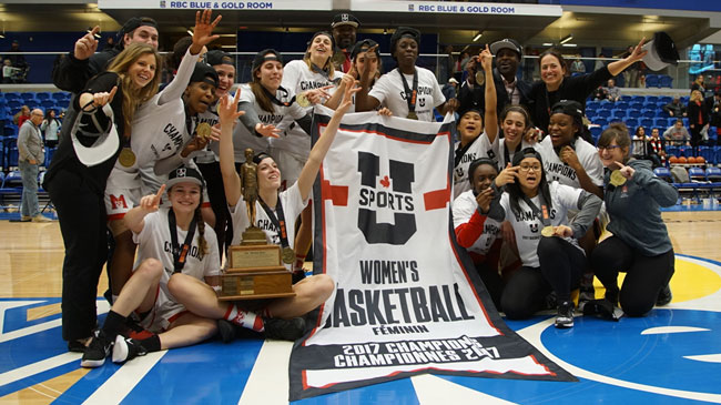 On Sunday, the McGill Martlets captured the University's first-ever national basketball championship with a 66-55 victory over Laval Rouge et Or.