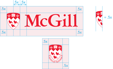 44a0a77bd93 The new Visual Identity Guide explains how graphic consistency enhances  legibility and impact of McGill s official design elements. For example