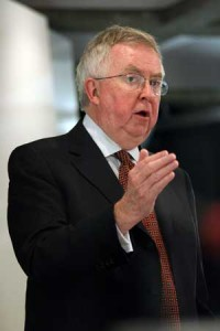 The Rt.-Hon. Joe Clark,Co-Chair of McGill's International Conference on Global Food Security