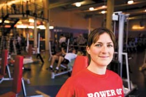Athletic therapist Cristina Pensato serves as the unofficial nutritionist to some McGill sports teams.