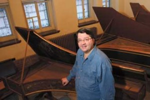 Rejaean Mongeau: McGill harpsichord players' best friend for two decades. / Photo: Owen Egan