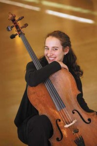 Golden Violin Award winner Chloé Dominguez. / Photo: Owen Egan