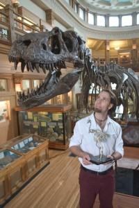McGill paleontologist Hans Larsson