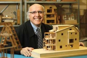 Avi Friedman, McGill School of Architecture. / Photo: Owen Egan