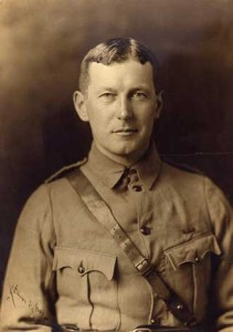 McGill field surgeon John McCrae, c. 1914. / Photo courtesy of the McGill Remembers Project